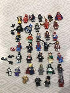 Lego Superheroes Marvel Minifigures 25+