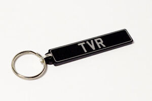 TVR Keyring - British UK Number Plate Classic Car Keytag / Keyfob