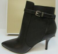 Michael Kors Size 6 Brown Leather Ankle Boots Heels New Womens Shoes