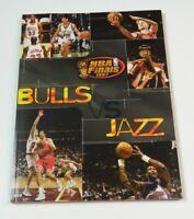 1997 Chicago Bulls VS Utah Jazz NBA Finals Program Michael Jordan