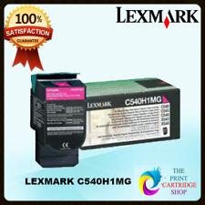 Original Lexmark C540H1MG Magenta Toner Cartridge C540n C543 C544 X543 X544 X546