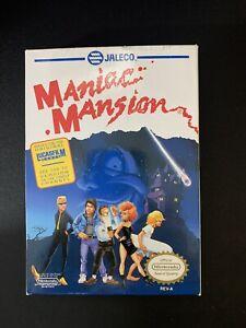 Maniac Mansion Nintendo NES Game 1990 Nintendo Vintage