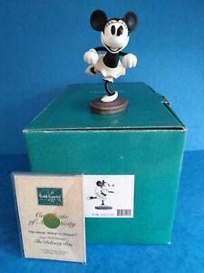"WDCC  Walt Disney Classics Delivery Boy Minnie Mouse ""i'm a Jazz Baby"""
