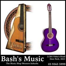 Valencia 3/4 size Classical Nylon String Guitar 150 Series Purple VC153
