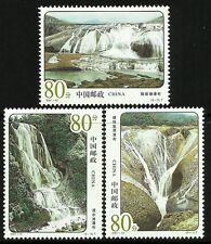 China 2001-13 Huangguoshu Waterfalls set of 3 MNH