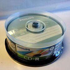 50 Philips Logo Music CD-R Blank Disc Media 80Min Digital Audio CDR DA