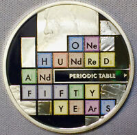 2019 S$1 Tuvalu 150 Years of the Periodic Table, Brilliant Uncirculated