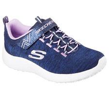 Scarpe Bambina Skechers 27 EU Sneakers Blu tessuto Bt342