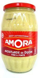 Amora Dijon Senf fein scharf 915 g Glas