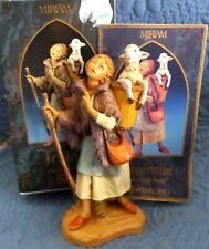 Fontanini Depose 1993 Miriam Shepherdess Shepherd Nativity Figurine
