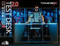 1/6 Toys Box TB038 Marvle Iron Man Tony Stark Workshop Scene Desk LED 2.0