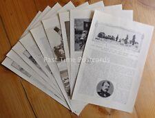 WW1 RUSSIAN STAND BATTLE OF THE CARPATHIANS The Great War 1914/15 Original Print