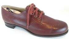 Drew Wingtip Oxford 13B Burgundy Red Oxblood Leather Lace Up Mens Dress Shoe