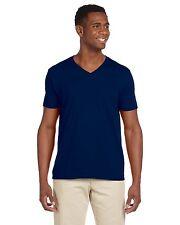 Gildan Mens Softstyle V-Neck T-Shirt S - 3XL 10 New Colors Shirts - 64V00-G64V