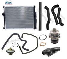 BMW E36 323i 328i M3 Radiator Lower Upper Water Pump Hoses Thermostat 92 Deg Kit