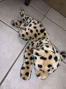 "Animal Alley Leopard Cheetah Jaguar 18"" Plush Stuffed Animal Soft Toys R Us"
