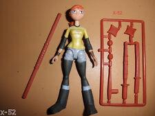 TMNT female APRIL O'NEIL rare FIGURE toy TEENAGE MUTANT NINJA TURTLES series