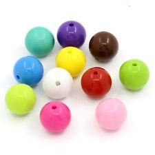 25x Perline ACRILICO MIX circa 16 mm GIOIELLI realizzerà