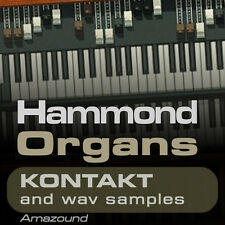 64 HAMMOND ORGANS for KONTAKT NKI INSTRUMENTS + 1152 WAV SAMPLES 24BIT MAC PC FL
