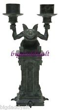 New Disney Parks Haunted Mansion Gargoyle Candelabra Figurine Candle Holder