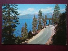 POSTCARD USA LAKE TAHOE IN THE SIERRA MOUNTAINS