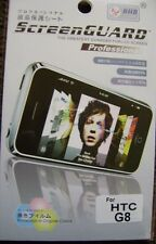 3 x Anti Scratch ScreenGUARD Screen Protectors for HTC WILDFIRE G8 Display Saver