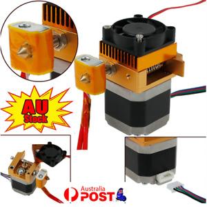 MK8 Extruder Sensor Hotend 0.4MM Nozzle Print Head for 3D Prusa i3 Printer Gold