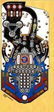 Williams SPACE SHUTTLE Pinball Machine Playfield Overlay