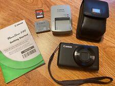 Cámara Digital Canon PowerShot s9 Con Cargador De Vídeo HD Tarjeta de memoria Excelente