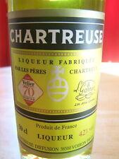 Bouteille chartreuse jaune special 2017 old blend 70 ans velier liqueur yellow