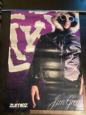 Vintage Jim Greco Skateboard Poster Sign Banner Vinyl Picture Krew Kr3W heshboy