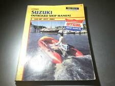 1977-1984 Suzuki Outboard 2-140 Hp Clymer Shop Manual 1-4 cyl Dt115 Dt60 Dt25