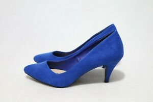Size 9 Womens Pointed Toe Kitten Cone Heels