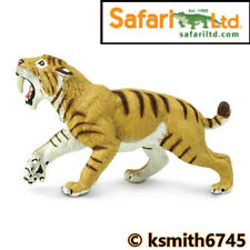 Tiger Smilodon 3D Lentikular Karte: Säbelzahn Sabre Tooth Tiger