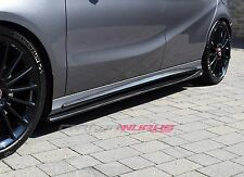 Mercedes A CLA Carbon Fibre Side Skirt Extensions - UK Stock W176 W117 A45 CLA45