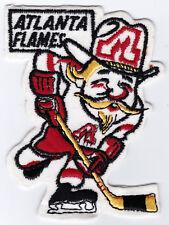 "1970'S ATLANTA FLAMES NHL HOCKEY 4.25"" CARTOON DEFUNCT TEAM PATCH"