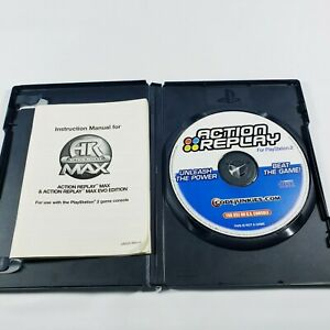 Action Replay (Playstation 2 PS2) Code Junkies 50,000 Cheat Codes w/ Manual