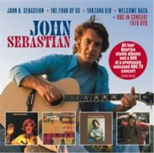 John Sebastian-John B. Sebastian/The Four of Us/Tar (UK IMPORT)  CD with DVD NEW