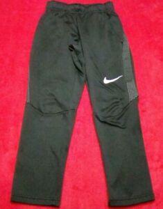Nike Dri-Fit Boys Size Small 8 Black Sweat Pants Joggers