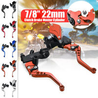 7/8'' Motorcycle Hydraulic Front Brake Clutch Lever Master Cylinder
