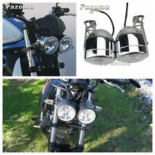 MOTO NAKED DOMINATOR double rond PHARE AVANT PHARE W/CROCHET STREETFIGHTER