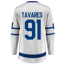 Women's Toronto Maple Leafs John Tavares Fanatics White Hockey Jersey Small