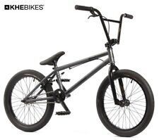 KHE BMX Bike Strikedown Pro 20 Inches Affix Rotor Stealth Grey Only 9,7kg