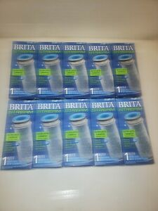 New BRITA STREAM Pitcher Replacement Filter 10 Pack OEM Filter As You Pour Tech
