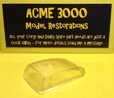 Dinky 167 AC Aceca Coupe Sports Car Reproduction Repro Clear Plastic Window Unit