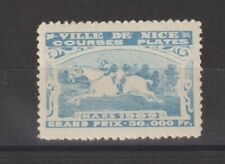French Poster Stamp Horse Racing 1909
