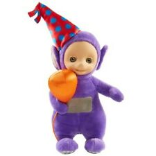 Teletubbies Party Doll Soft Talking Supersoft Plush 20cm Teletubby - Tinky Winky