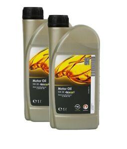 ORIGINAL GM OPEL Motoröl Öl LongLife dexos 1 Gen2 5W-30 5W30 95599919   2 Liter