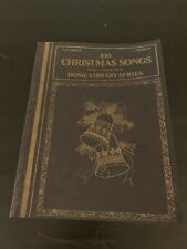 100 Christmas Songs Volume 6 Organ Sheet Music Words Home Library 1977 Big 3 NM
