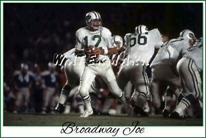 Broadway Joe 1969 COLLEGE ALL STAR GAME  Vintage Photograph (comes in 4 sizes)